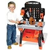Black & Decker Junior Carpenter Workbench 96 Pieces Tools and Accessories