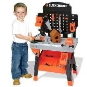 Black & Decker Junior Carpenter Workbench 96 Pieces Tools and Accessories
