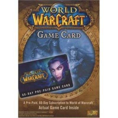 world of warcraft 60 day prepaid game card - 4