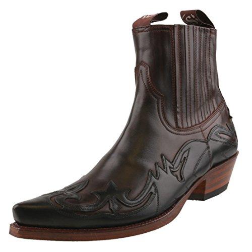 Uomo Boots blu Scuro Stivali Scuro Marrone Blu Sendra ZxaAqwx