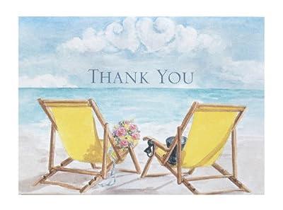 Hortense B. Hewitt Wedding Accessories Contemporary Couple Thank You Cards