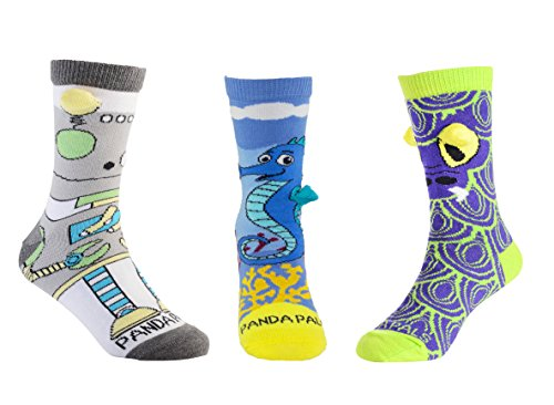 Children's Mythical Socks by Sock Panda (Three Pack (Kid Creature Socks)