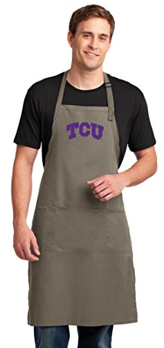 Broad Bay TCU Apron Large Size Texas Christian Aprons for Men or Women