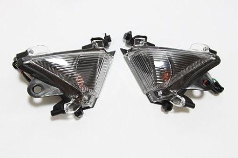 5bb63aaa2fb33 Euro Turn Signals - Kawasaki ZX10R ZX10 R 04-05- Clear