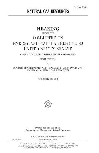 Download Natural gas resources PDF
