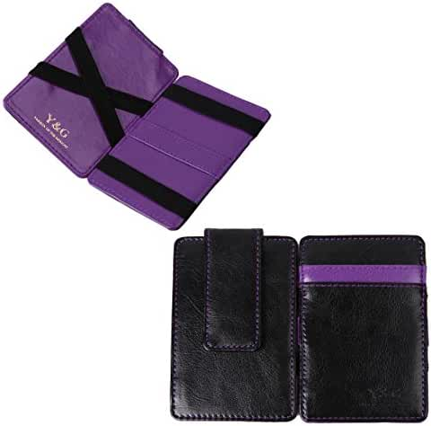 YCM0101 Black Magic Wallet Credit Card Holder Wedding Gift 10 Color Available By Y&G