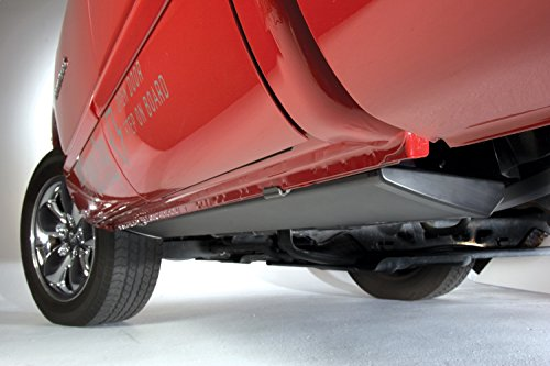 AMP Research 76154-01A PowerStep Electric Running Boards Plug N' Play System for 2014-2018 Silverado & Sierra 1500, 2015-2019 Silverado & Sierra 2500/3500 with Double and Crew Cabs (Excludes ()