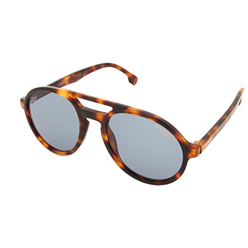 Carrera Adult Pace/S Sunglasses, Light Havana/Blue Avio, - Sunglasses Carrera Tortoise
