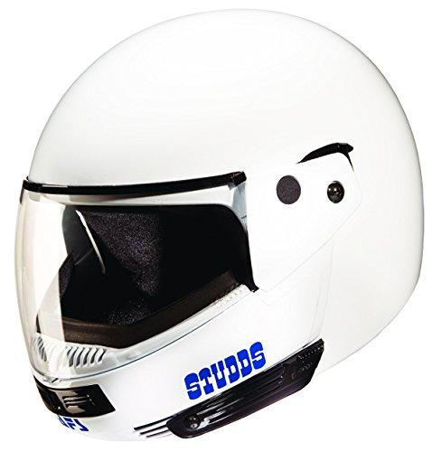 Studds Ninja Pastel Plain SUS_NPPFFH_WHEXL Full Face Helmet (White, XL)