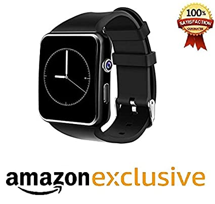 cfe639548 Amazon.in: Buy JOKIN Bluetooth Smart Watch with Camera and Sim Card Support  Android/iOS Mobile Phones (Black) Online at Low Prices in India | Reviews &  ...