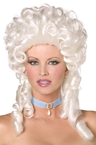 Baroque Wig (Baroque Wig Costume Accessory)