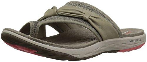 Merrell Women's Vesper Thong Sandal - Aluminum - 9 B(M) US