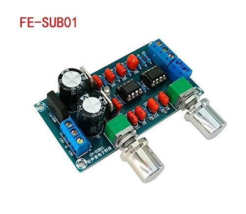 Nivel de placa de filtro de paso bajo NE5532 antes de que la placa termine la placa Paleta de sonido del subwoofer con sobrepeso Filtro de paso bajo