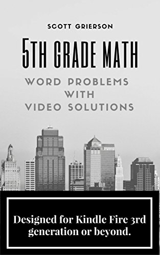Grade Video (5th Grade Math Word Problems with Video)