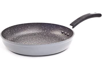 12 Stone Earth Frying Pan by Ozeri, with 100 APEO PFOA-Free Stone-Derived Non-Stick Coating from Germany