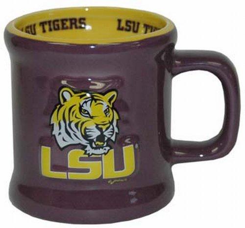 NCAA LSU Tigers Mug Ceramic Relief