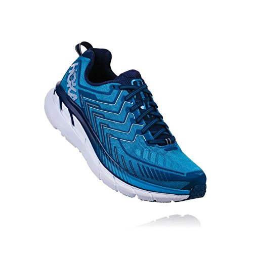 Turquoise Hoka Clifton Homme 3 43 4 Chaussures 1 Running O1xwqOpAF