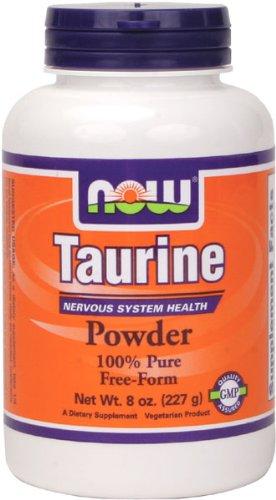 NOW Foods La taurine pur en poudre, 8 oz