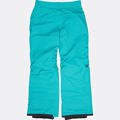 Billabong Girl's Alue Snowboard Pants, Aruba Blue, Size M/10/12 by Billabong