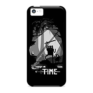 New Snap-on Dsorothymkuz Skin Case Cover Compatible With Iphone 5c- Zelda Adventure Time Cartoonss