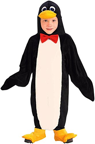 Toddler Penguin Costumes (Forum Novelties Plush Cuddlee Penguin Costume, Toddler)