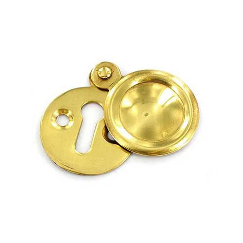 Securit S2260 Vic. Escutcheon Covered 35mm, Gold