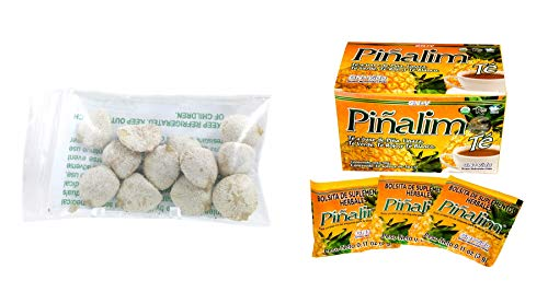 10 Pack Indian Nut 120 seeds AND Te Pinalim Tea GN+Vida Weight Loss Tea Diet 30 Day Supply