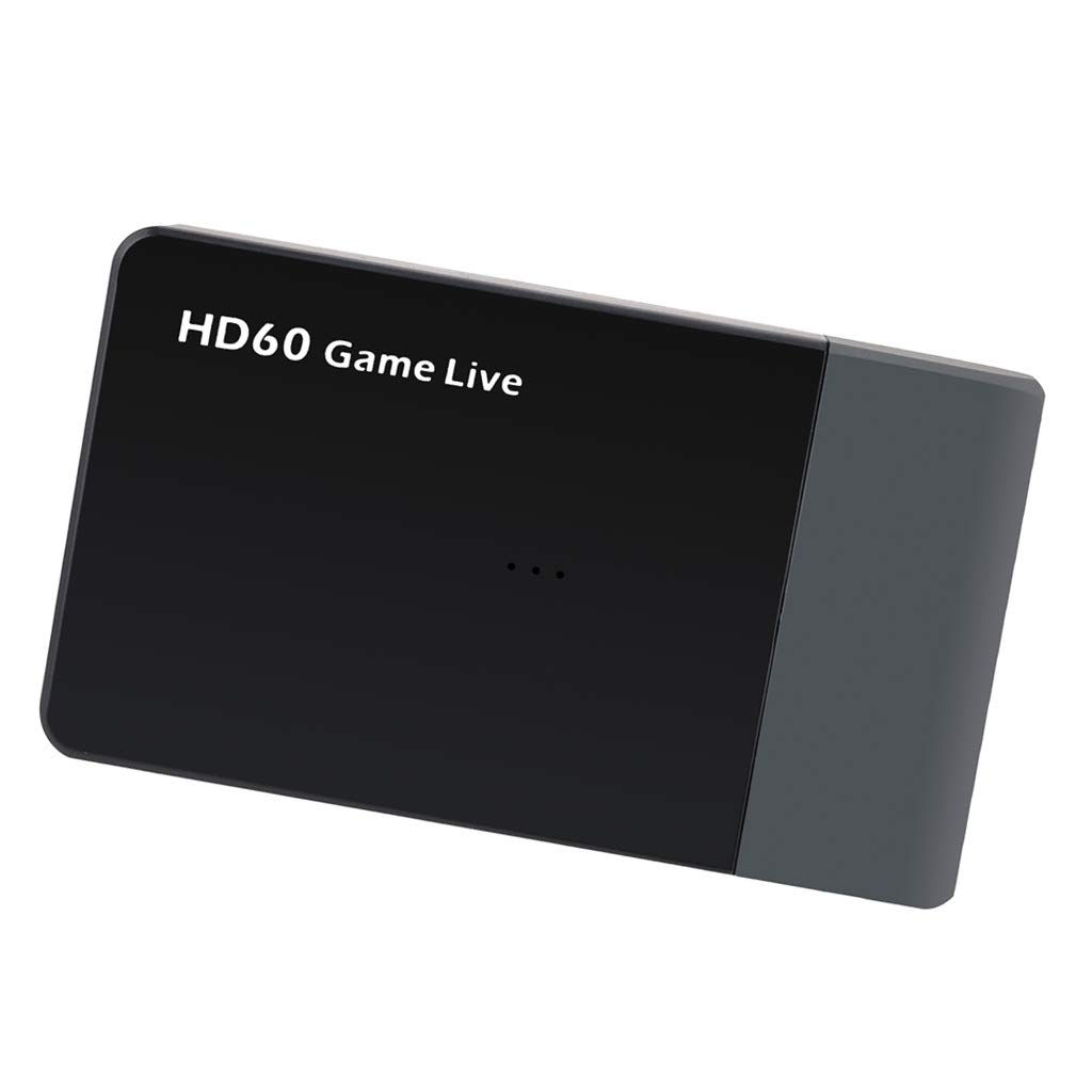 Almencla Video Game Capture Card Device Video Recorder, HDMI Output, Full HD 1080P Live Streaming