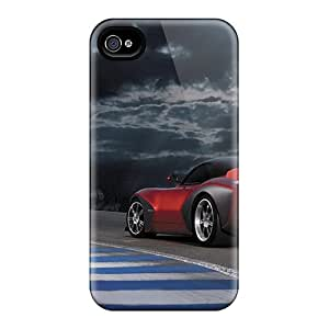 (UTv10773iJfd)durable Protection Cases Covers For Iphone 4/4s(devon Gtx)