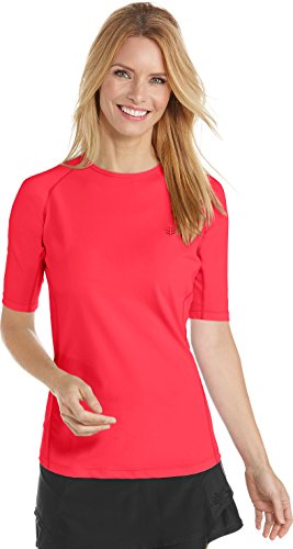 Coolibar swim shirts red 2019