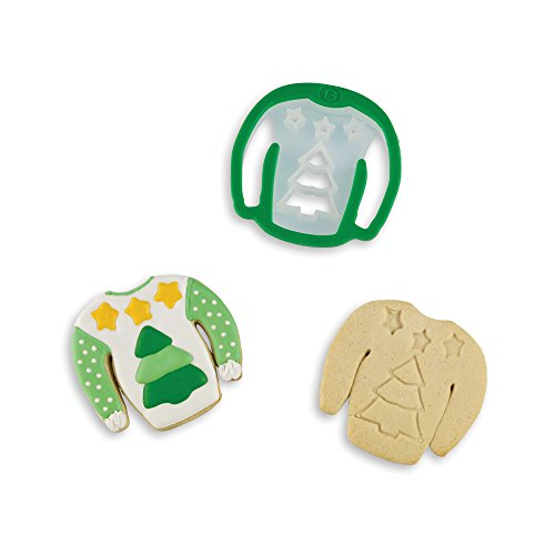 Bakelicious 72833 Ugly Christmas Sweater Cookie Cutter, Tree]()