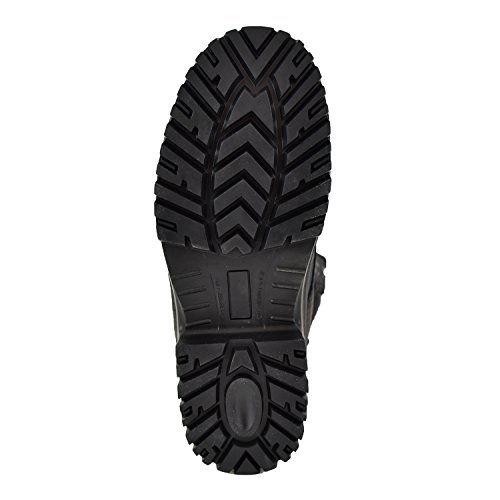 CSA Leather Boots 6688 Black Men's Work Safety Comfory Lightweight Fiber Carbon Safety Tiger TUdwSqd