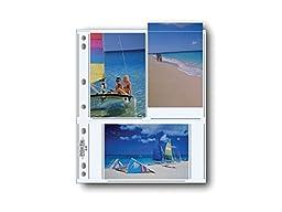 Printfile Archival Photo Album Pages for 6 4 x 6 Prints 100 Sheets - Printfile 466P100