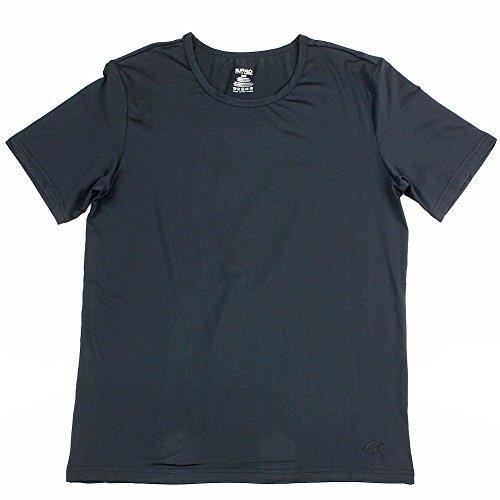 Buffalo By David Bitton Men's Black Microfiber Crew Neck T-Shirt Sz: L
