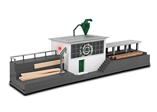 LNL82023 O Command Controlled Sawmill/Sounds (Dump Wood Car Side)