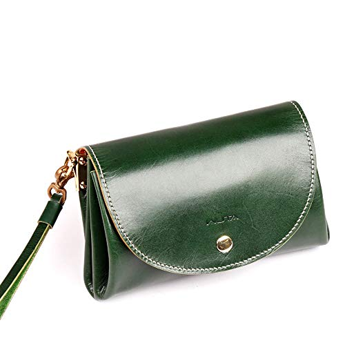 WUTA Leather Mini Lady Clutch Handbag Leather Template Flap With Wrist Strap Acrylic Pattern Craft Tool 958 -