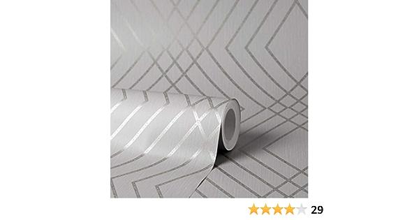 Fine Décor FD42603 - Papel pintado, diseño de enrejado
