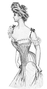 Vintage Burlesque Clothing, Costumes, Outfits 1903 Edwardian Corset Pattern $13.95 AT vintagedancer.com