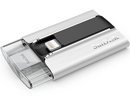 SanDisk iXpand Lightning iPhone Silver