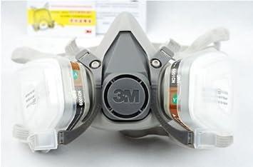 3M 6200 Face Mask 6001 7 in 1 Suit Respirator Painting Spraying Filter 5N11 501