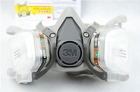 Fire Respirators 3m 6200 Half Facepiece Respirator Medium Size Painting Spraying Face Gas Mask