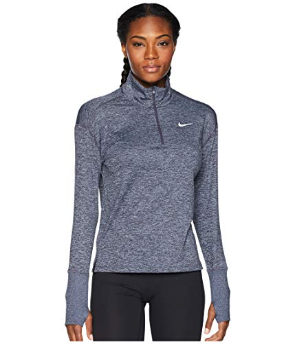 Nike Women's Element 1/2 Zip Running Top Gridiron/Ashen Slate/Heather Size Small
