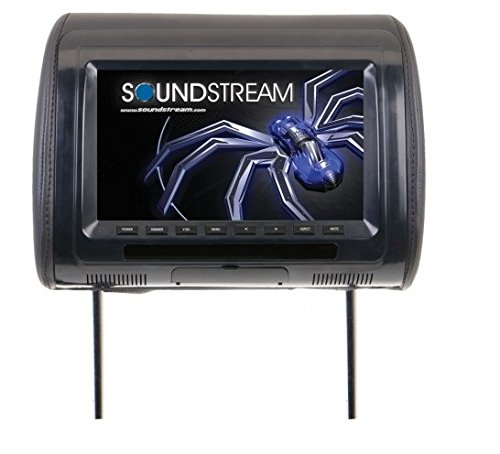 Single Channel Wireless Infrared Stereo (Soundstream VH-70CC Universal Headrest with 7″ LCD/3 Color Covers)