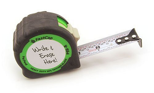 - FastCap PSSR25 25 foot Lefty/Righty Measuring Tape