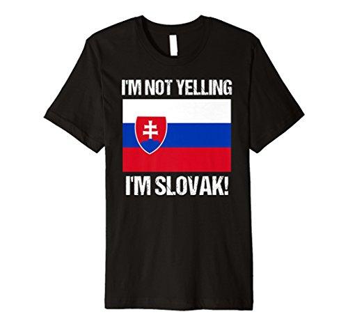 Slovak Pride Not Yelling Slovak Country Flag Slovakia -
