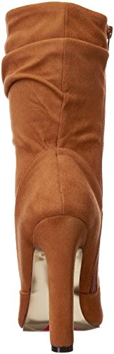 Luichiny Womens Cha ching Ankle Bootie Camel IOe1YB0w