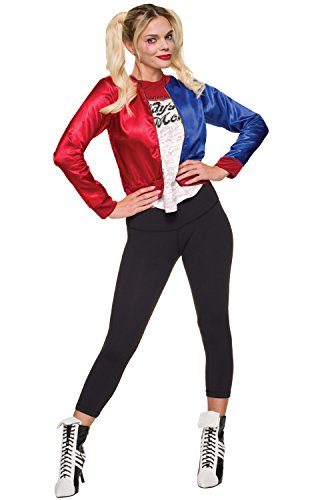 Rubie's Costume Co Women's Suicide Squad Harley Quinn Costume Kit, Multi, -