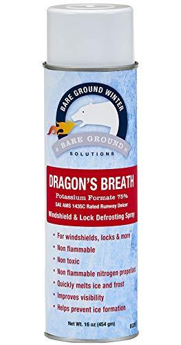 Bare Ground BGDB-1 Dragon's Breath Windshield Defrosting Spray and Lock Deicer ()