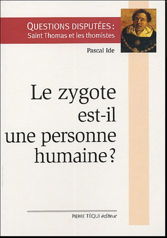 Image result for le zygote est-il une personne humaine