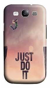 Samsung S3 Case Just Do It Jump Cliff 3D Custom Samsung S3 Case Cover WANGJING JINDA